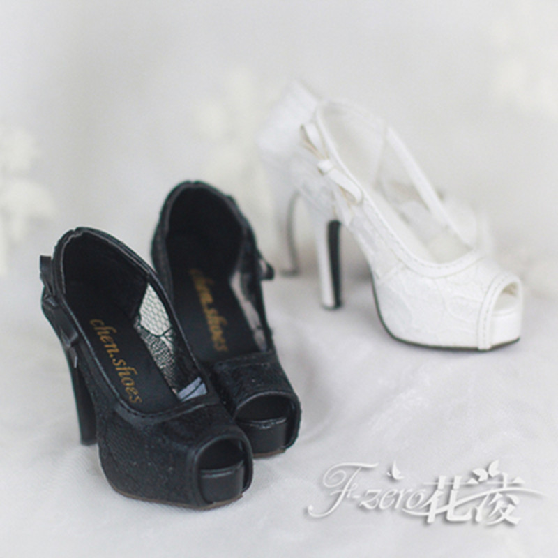 1/3 BJD doll  open toe high-heeled shoes sd16 uncle 1 3 1 4 1 6 doll accessories for bjd sd bjd eyelashes for doll 1 pair tx 03