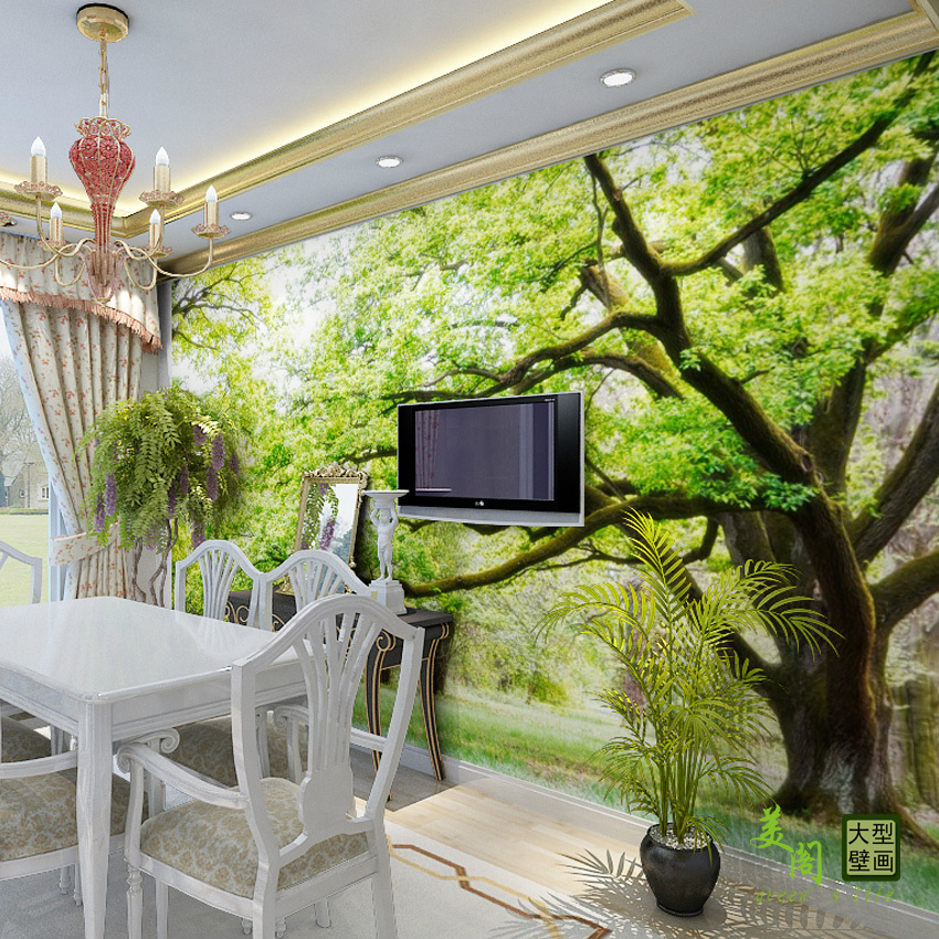 96 3d wall murals for living room 15 3d wall murals for Wall coverings for living room