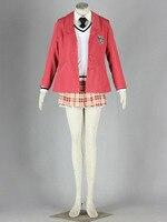 Черный TALIA Косплэй Для женщин заказчика платье Прохладный APH Всемирный W Колледж школьная униформа наряд b43