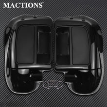 Motorcycle Lower Vented Leg Fairing Glove Box For Harley Touring Road King Road Glide FLTRX Street Glide FLHX 2014- 2020 2018 19