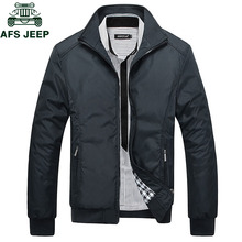 AFS JEEP Spring Autumn Casual Mens Jackets Plus Size 5XL jaqueta masculina Sport