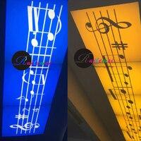 Gratis Verzending 20 W Led Roterende Gobo Custom Logo Spot Projectoren voor Nachtclubs Toont Entertainment Projector