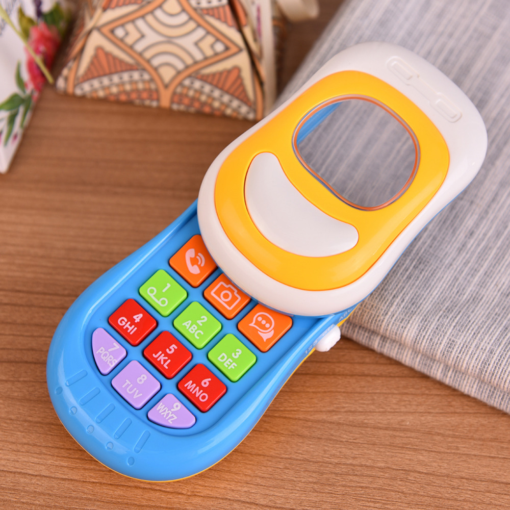 New Childrens Toys Music Phone Push-pull Phone Toys Baby Phone Toys Gift to Children Wholesale