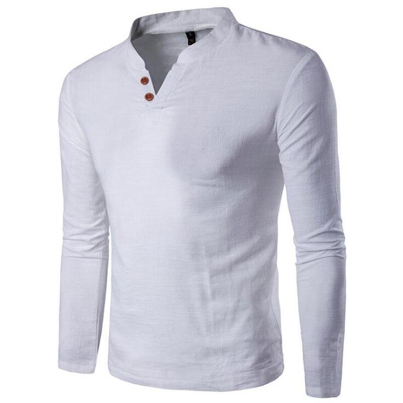 KaLeBo 2017 marca de moda clásica para hombre camiseta de lino tela de verano nueva moda casual grande M-XXXXXL
