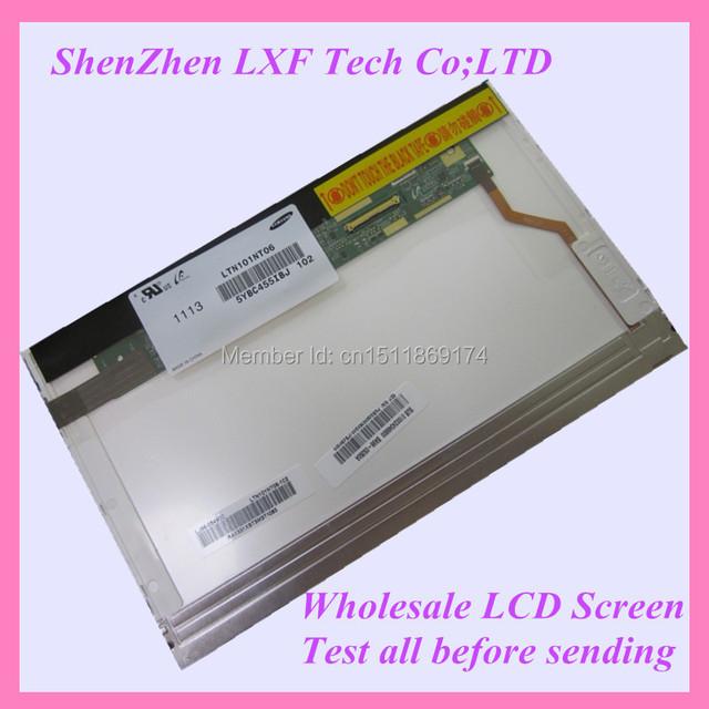 10.1 pantalla del ordenador portátil LCD M101NWT2 N101L6-L01 LP101WSA LTN101NT02 LTN101NT06 B101AW03 envío gratis con número de seguimiento