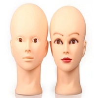 Female Mannequin Head Model Wig Hat Jewelry Display Cosmetology Manikin Hairdressing Doll Women Hairdresser Sent Randomly