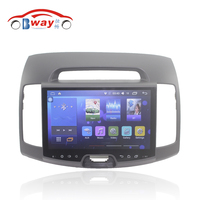 Bway 10 2 2 Din Car Radio For Hyundai Elantra 2008 2010 Quadcore Android 6 0
