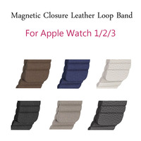 1 1 Genuine Leather Loop Band For Apple Watch Band 42mm 38mm Series 3 2 1