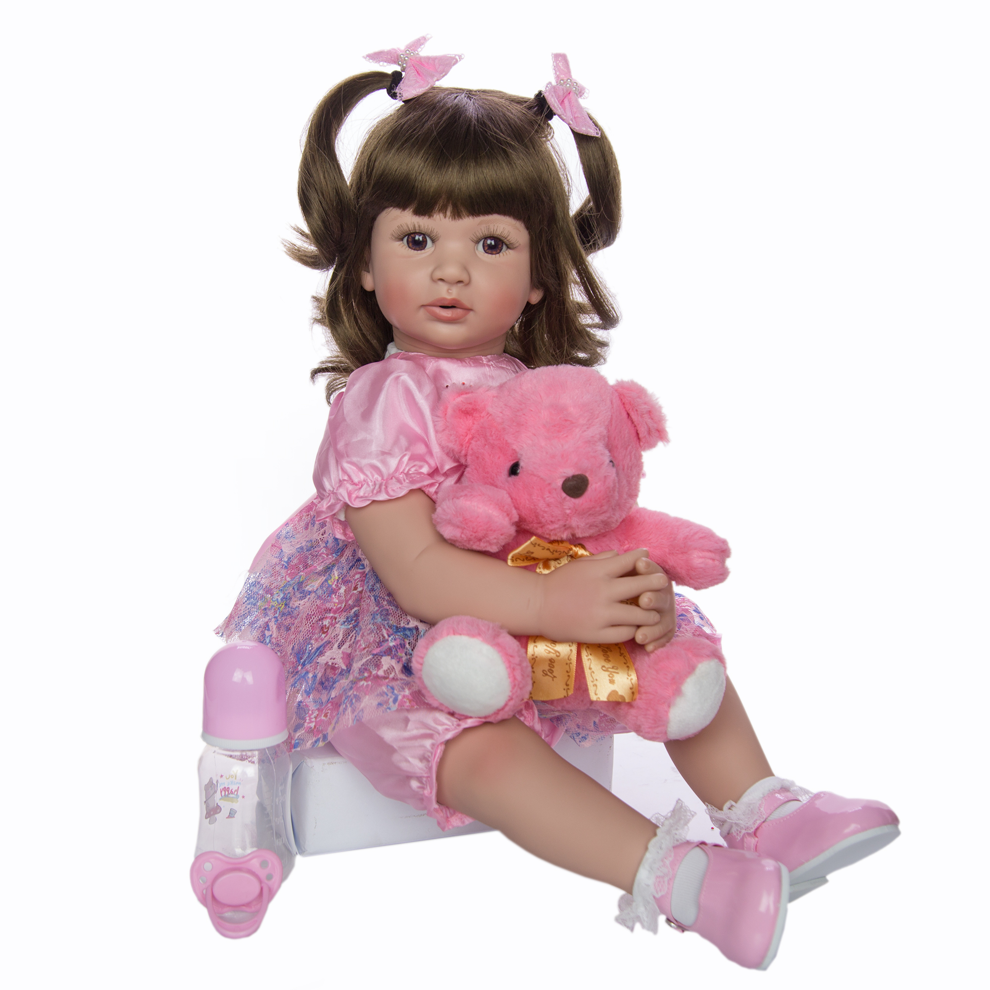 KEIUMI 24 Inch Reborn Puppen 60cm Tuch Körper Neugeborenen Mädchen Babys Spielzeug Prinzessin Boneca Baby Puppe Für Verkauf Kid geburtstag Geschenk Sammeln-in Puppen aus Spielzeug und Hobbys bei  Gruppe 2