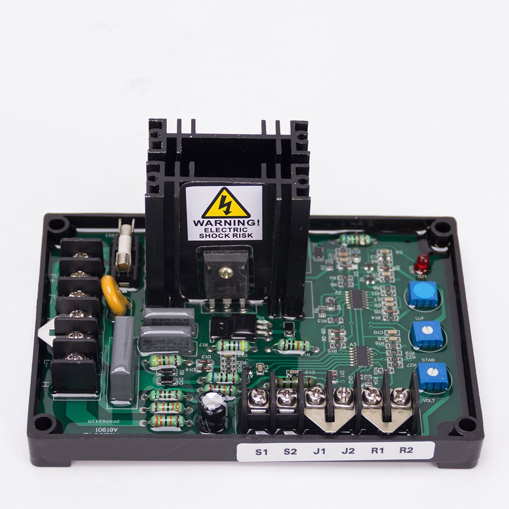 GAVR 15A Generator Universal AVR Automatic Voltage Regulator Board ac 3 phase brushless Diesel electric Controller