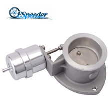 ESPEEDER 2.5'' Exhaust Cut Out 63mm Exhaust Control Cutout Valve With Vacuum Actuator Open Close Exhaust Tip Muffler Valve espeeder 2 5 exhaust cut out 63mm exhaust control cutout valve with vacuum actuator open close exhaust tip muffler valve