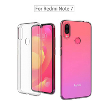 Redmi Note 7 TPU Case Xiaomi pro Cases Ultra-thin Transparent Silicone Phone 7Pro Cover