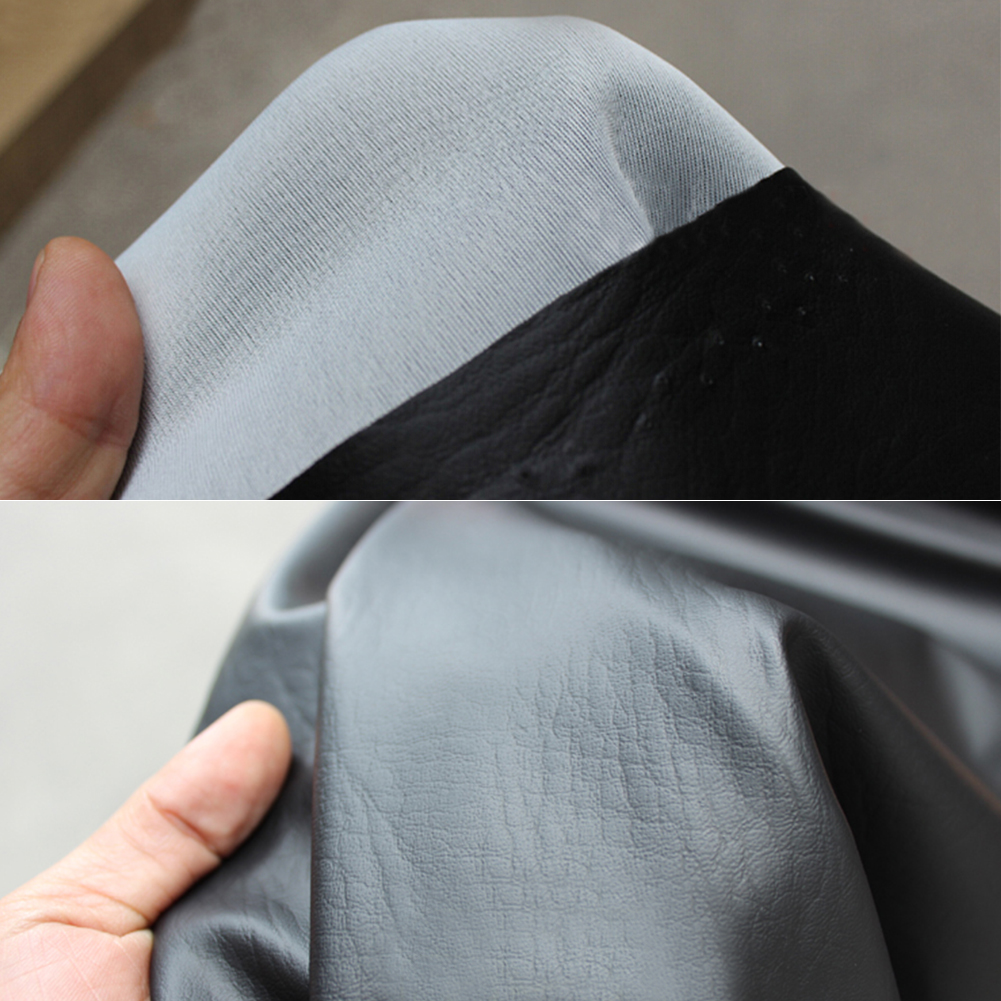 Wear-Resistant Universal Motorcycle Scooter ATV Leather Seat Cover Protector 90 /× 70 cm//35.43 /× 27.56 inch Motorcycle Leather Seat Cover