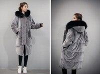 패션 여성 겨울 코트 재킷 따뜻한 여성 파카