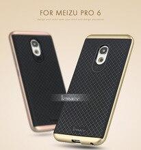 IPaky Рамка ПК и ТПУ силиконовый Back чехол для Meizu Pro 6 телефон случаях 2 в 1 Стиль противоударный Soft Чехол Case для Meizu Pro6