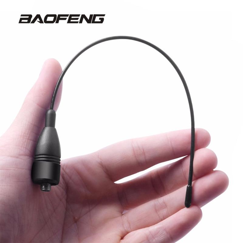 Baofeng Walkie Talkie NA666 Raido Gain Antenna Dual Band UHF VHF For Portable Radio UV-5R BF-888S UV-5RE UV-82 Soft Antenna