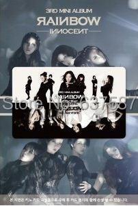 RAINBOW 3RD MINI ALBUM - INNOCENT (Smart Music Card (NFC card)+ 1postcard + photobook (52p)) Release Date 2014-2-23 KPOP ALBUM lee seung gi 3rd album break up story release date 2007 08 17 kpop album