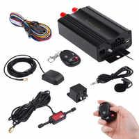Franchise en temps réel voiture GPS SMS GPRS Tracker dispositif de suivi en temps réel Syatem Remote TK103B localisateur dans le monde entier navigateur de voiture #0305