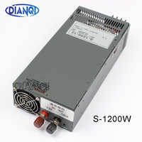 1200W 12V 100A Switching power supply for LED Strip light AC to DC power suply input 110v 220v 1200w S-1200-12 72V 48V 72V 24V