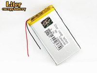 10000mAh large capacity 3.7V polymer lithium battery 1260100 Rechargeable Li ion Cells For GPS DVD Tablet MID Electric Toys