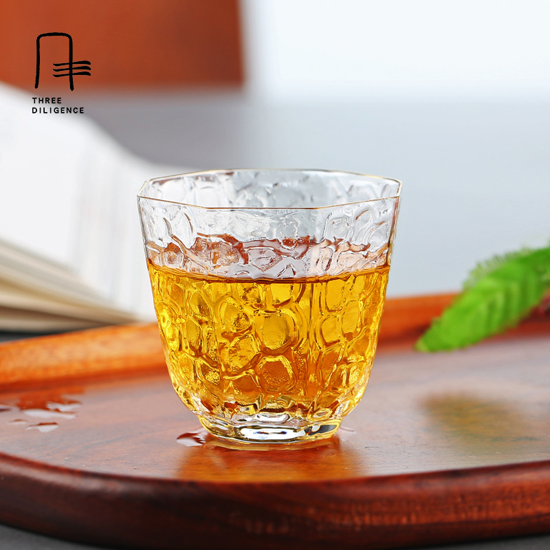 Glass tea cup glass teaset Whisky transparent kungfu wine shot beer glass cups Party Hotel Wedding Glasses Gift Drinkware