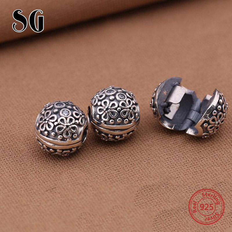Fit Authentic Pandora Armband Daisy Chain Schraube Perlen Clip Charms - Modeschmuck - Foto 5