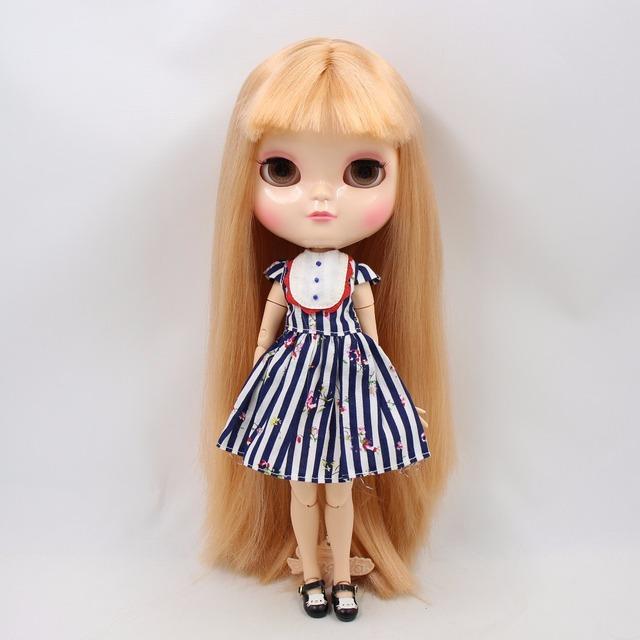 ICY Neo Blythe lutka naranđasta zlatna kosa azonirano tijelo