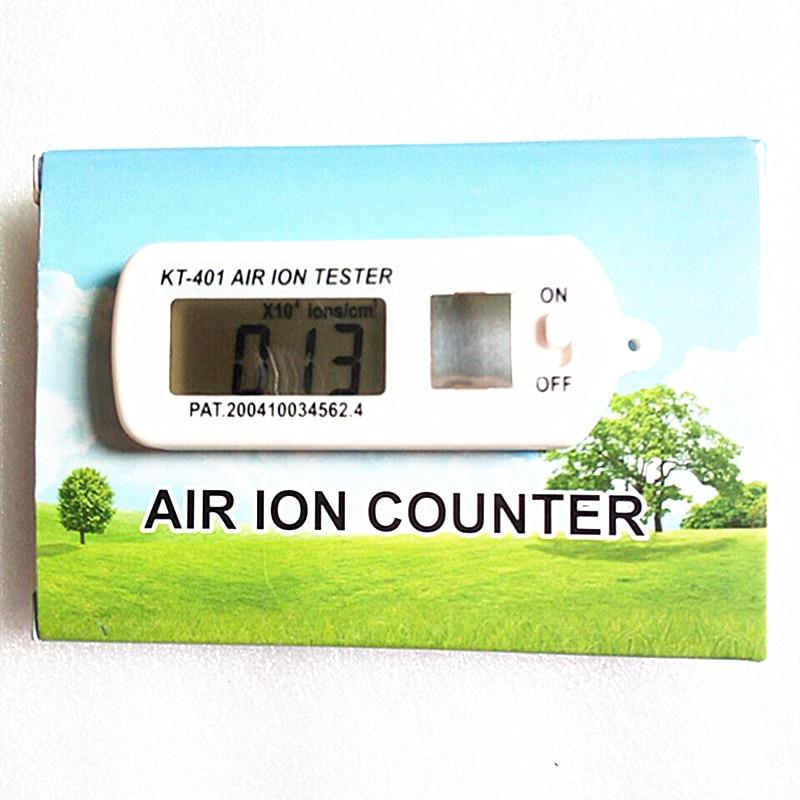 Kt-401 Air aeroanion тестер иономер aeroanion детектор отрицательные ионы кислорода Концентрация аниона Detecto Авто Воздухоочистители