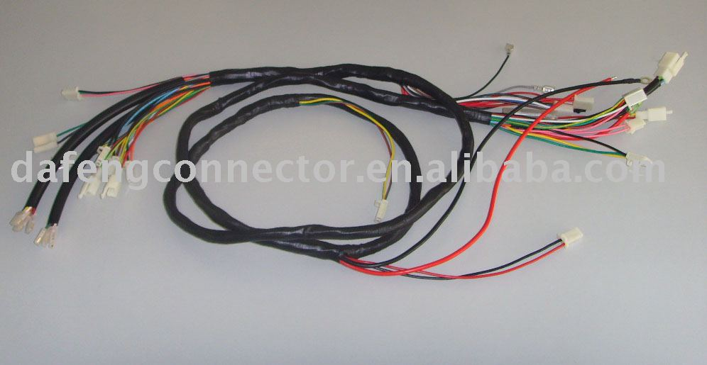 house wiring harness wiring harness for the electric scooter(e bike,wire ... house wiring block diagram
