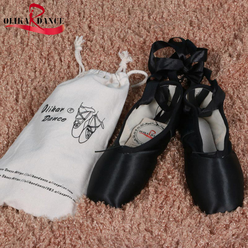 Kids Dance Shoes Professional Girl  Ballet pointe shoes Different color to select White/Black/red/blue/Dark red национальный костюм dance according to ballet 8272 ds 8272