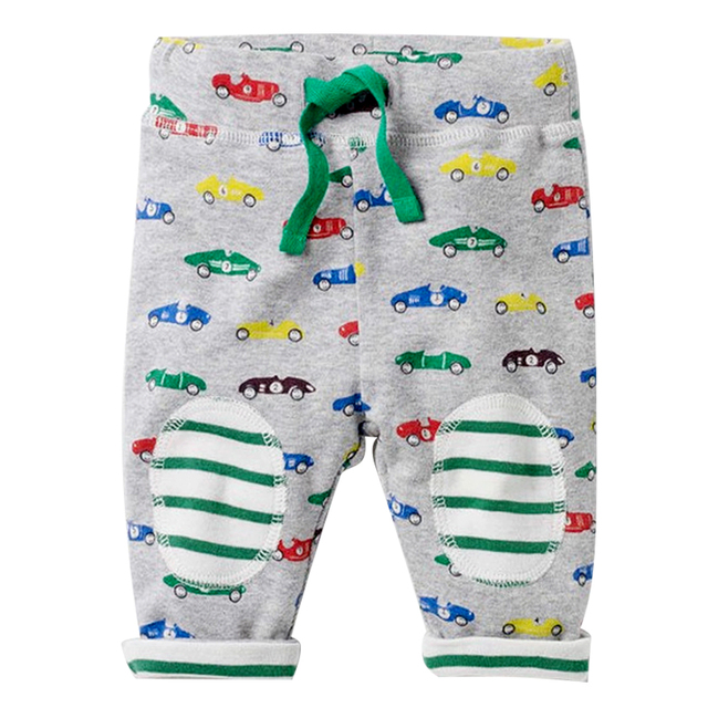 Boys' Cute Soft Animal Printed Pants