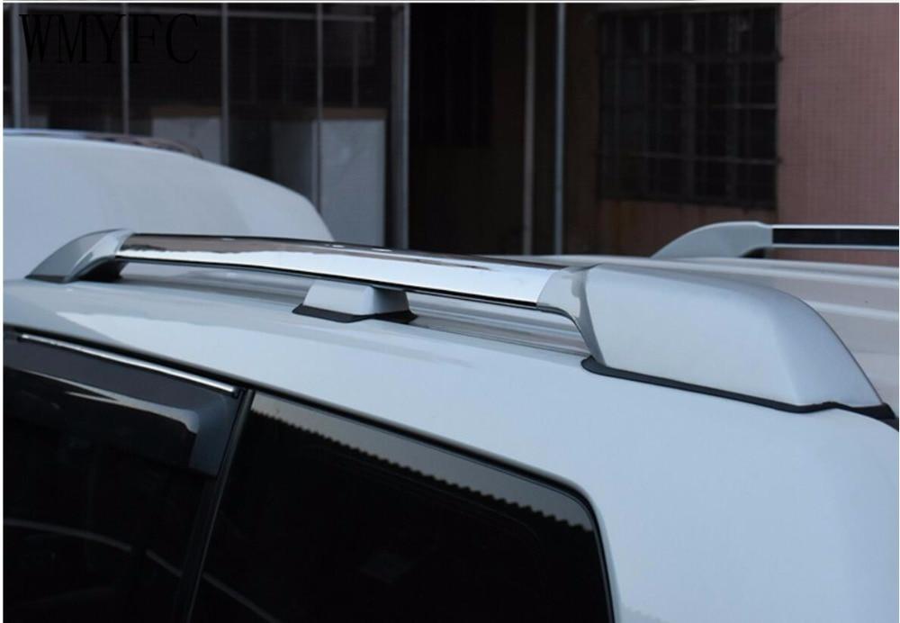 2017 2016 2015 Aluminum Alloy Top Roof Rack Rails Bars Carrier Bar For Toyota Prado 27004000  2010 2011 2012 2013 2014