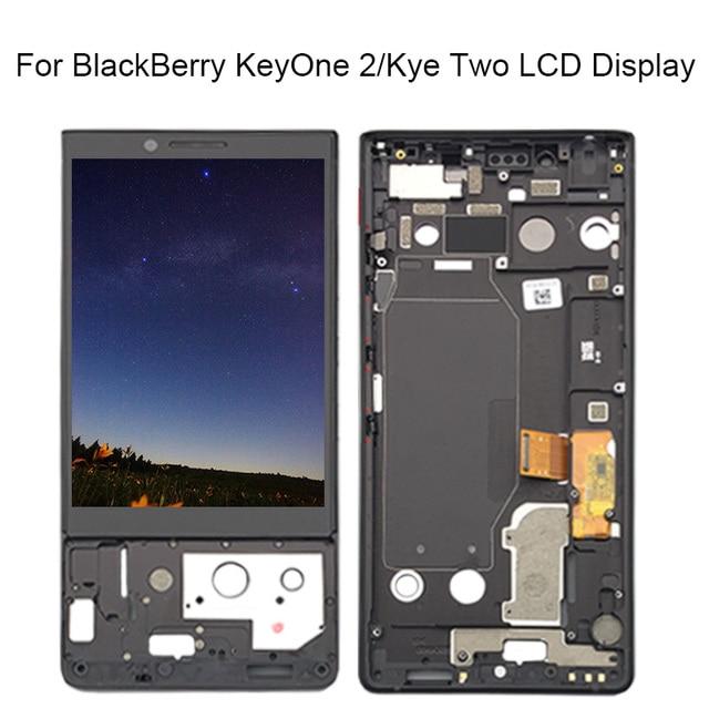 블랙 베리 key2 lcd 디스플레이 터치 스크린 디지타이저 어셈블리 key2 화면 블랙 베리 키 2 lcd 화면 keytwo 프레임