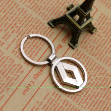 PC Car Styling Car Keys Creative Emblem Key Chain Ring for Renault Duster Megane