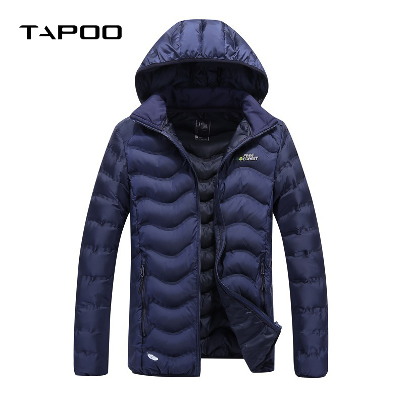 2018 Winter Coat Men Casual Warm Fur Hooded Jacket Mens Wnter Jackets And Solid color Ma ...