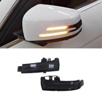 Dynamische Blinker Anzeige Geeignet für Mercedes Benz CLA GLA GLK CLS Klasse C117 X156 X204 W218 Auto Tuning Zubehör