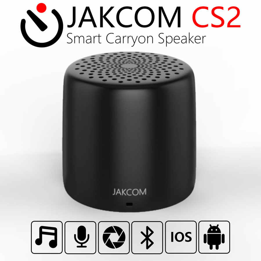 JAKCOM CS2 Smart Carryon Speaker bluetooth speakers High-volume portable Enhanced Bass Microphone for fast charge 30 mins