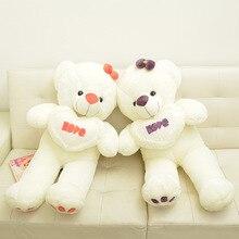 New arrival Teddy Bear Doll Hold heart bear Stuffed Plush toy Children Birthday Gift