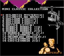 O MINI CLÁSSICO COLEÇÃO DE NES 163 em 1 Cartucho de Jogo de NES Console