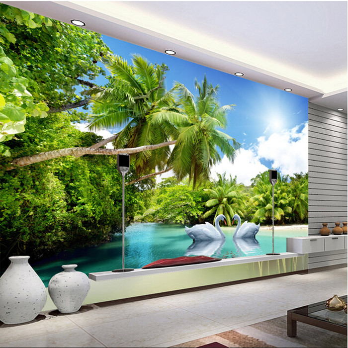 Custom photo wallpaper Non woven 3D nature landscape living room dining room coffee shop hotel sofa TV backgroud wallpaper mural 3d room wallpaper custom mural non woven sticker mural old man tv sofa bedroom ktv hotel living room children room