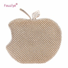 hot deal buy fawziya apple shape purse brand bags for girls handmade clutches mini purses for women shoulder