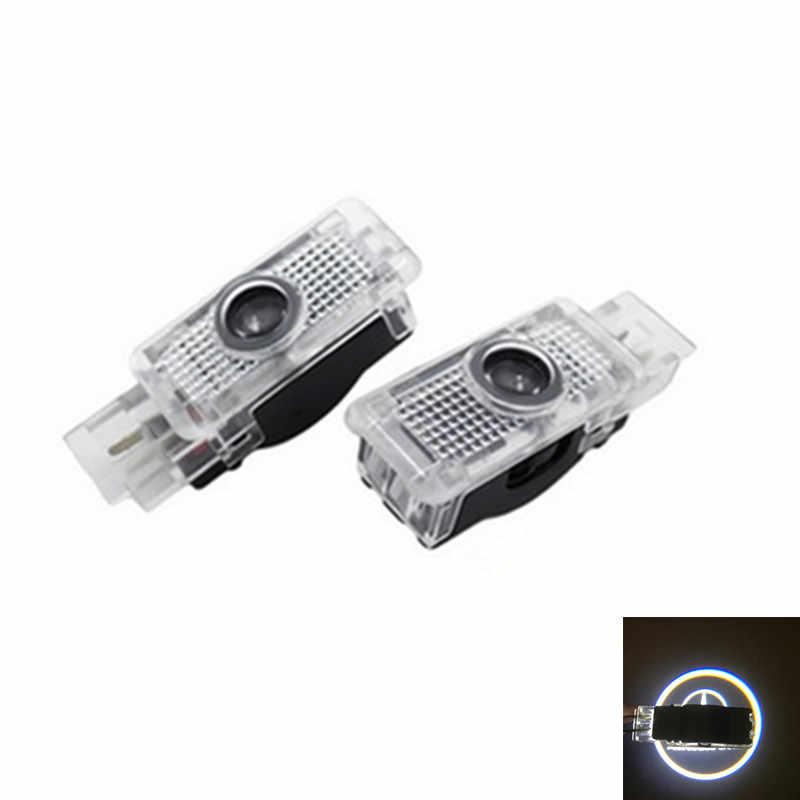 2x светодиодный подсветка дверей автомобиля 3D лазерный проектор логотипа лампа для Mercedes W203 c-класс 2001-2007 C Class W240 R171 R199 SLK CLK SLR W209