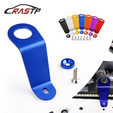 RASTP - Universal Racing Aluminum Radiator Stay Bracket Bolt Kit Fit for 92-95 Honda Civic EG Car Accessories RS-HR002 wlring store free shipping racing light weight aluminum crankshaft pulley oem size 92 95 for civic sohc d16 wlr cp009