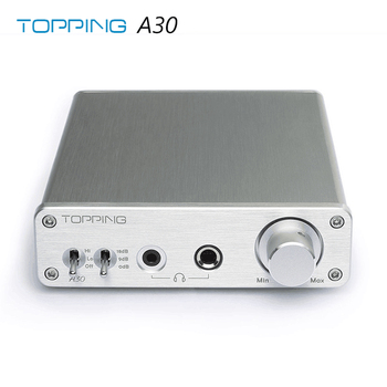 Topping A30 TPA6120 3.5mm/6.35mm Headphone output Hifi Desktop Headphone Amplifier 1