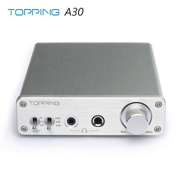 Topping A30 TPA6120 3.5mm/6.35mm Headphone output Hifi Desktop Headphone Amplifier 1