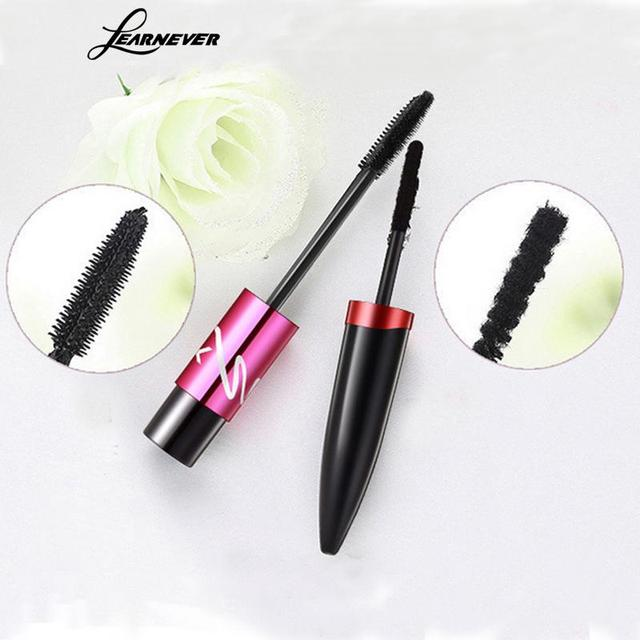 Blacklearnever Mascara Eyelashes Grow Double Waterproof Silk Fiber