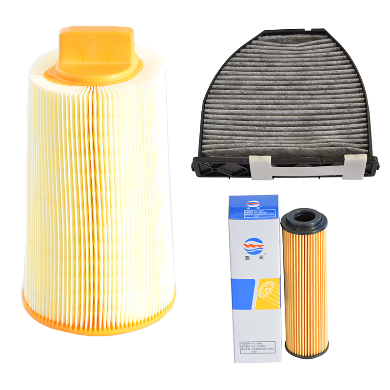 Air Filter Cabin Filter Oil Filter for For Mercedes Benz C180K W204 C200 W203 C200K W203