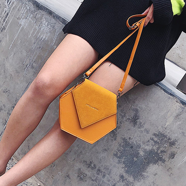 Simples Couro Moda Pu Fosco Mulheres do Desenhador Bolsa Das Mulheres Saco Do Mensageiro Do Ombro Ocasional Saco Do Telefone Móvel Saco De Luxo À Noite