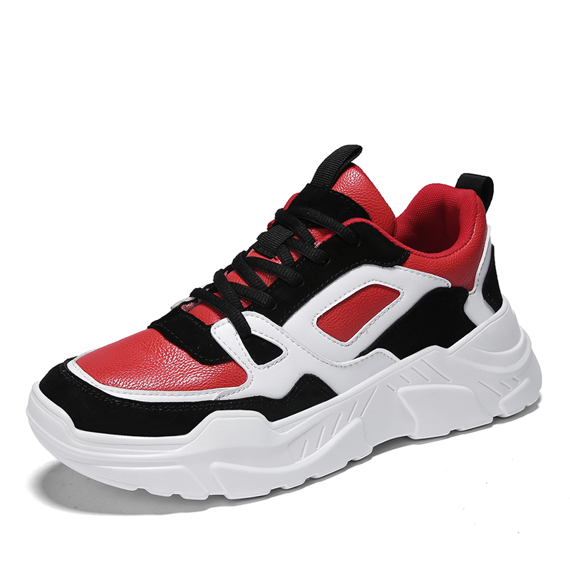 Casual Männer Schuhe Atmungs Red Mode Weiß Schwarzes Männliche Mycolen Lace Herren white High Top black 2018 Ash Herbst Komfortable Outdoor up qnwzXYXt