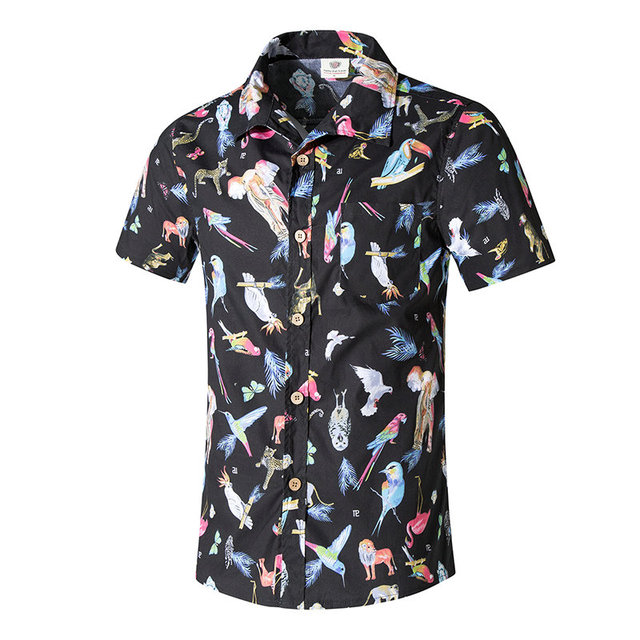 In The Jungle Hawaiian Shirt